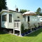 Photo of caravan on the Orchard Caravan Park