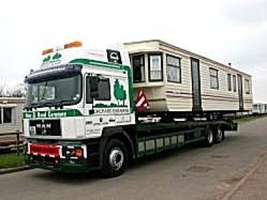 Photo of MAN Rigid vehicle designed to transport large caravans for Orchard Caravans