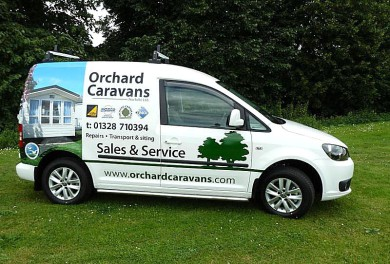 Photo of VW Caddy service van