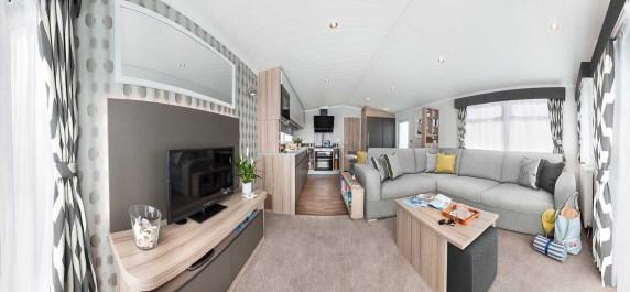 Picture of a 2017 Willerby Granada 35 x 12  2 bedroom holiday caravan.