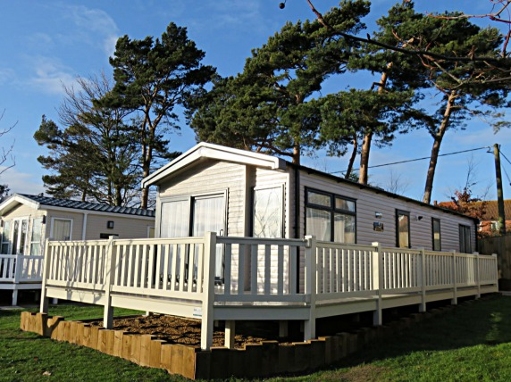 Picture of a 2019 Swift Antibes 38 x 12  2 bedroom holiday caravan.