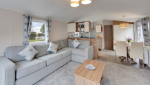 Interior photo of the lounge in a 2019 Willerby Avonmore 38 x 12 2 bedroom holiday caravan